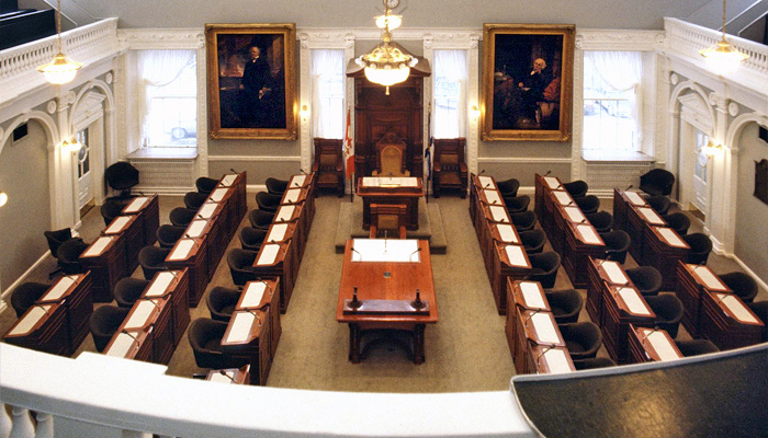 Nova Scotia House of Assembly Chamber