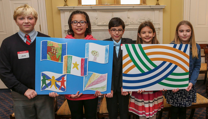 Heritage Day Flag unveiled