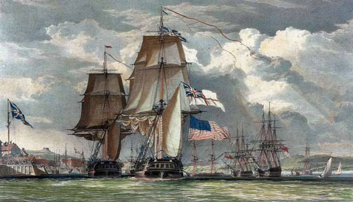 The Battle between <i>Shannon</i> and <i>Chesapeake</i>