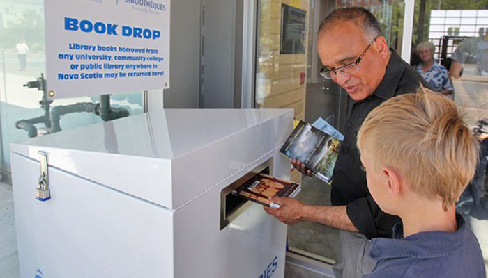 Library Drop Box added to Market