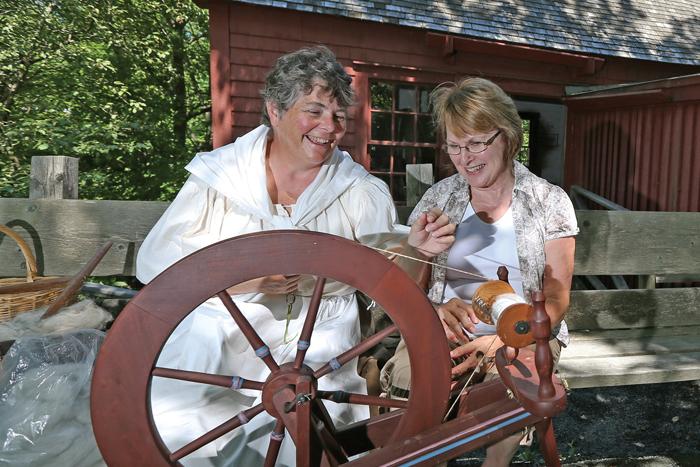 Au moulin à carder Wile, à Bridgewater